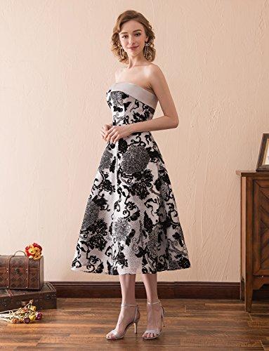 Ballkleider Abendkleider Erosebridal Tee Eleganz Vintage Länge Trägerlos zxt1FY