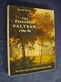 Parkers at Saltram, 1769-89 by Ronald Fletcher front cover