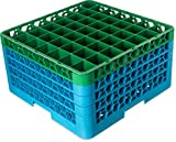 Carlisle OptiClean 49 Compartment Glass Rack with 4