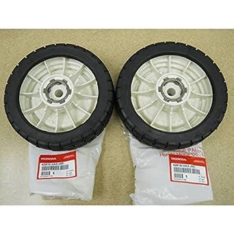 Nuevo Set de ruedas trasera Honda HR214 HR215 hra215 hra214 42810-va3-j00: Amazon.es: Amazon.es