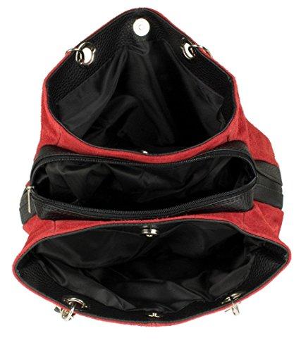 Handbags rouge bandoulière à Sacs femme Girly dwFOXqx0d