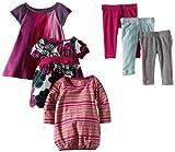 Tea Collection Baby Girls' Fresh And Mod Six Piece Set
