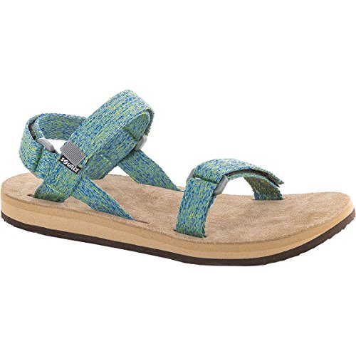 Urban Leather Mujer green blur Sandalias vzx1gRn