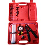 HandHeld Vacuum Pump Set Tester for Automotive with Adapters Brake Bleeder Test Kit