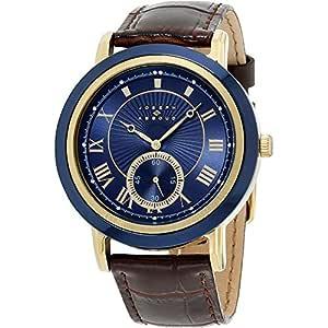 Joseph Abboud Men's Navy Dial Leather Band Watch - JA3099G648-709