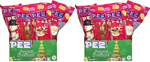 Christmas Winter Holiday PEZ Dispensers Pack of 24