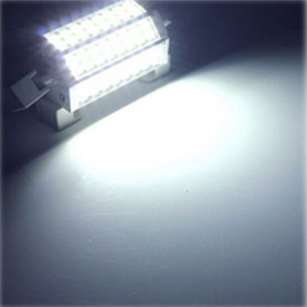 Akaiyal 30W R7s LED Lámpara Regulable 118MM Double Ended J118 Spotlight Bombilla Blanco Frío 6000K 200 Grados (1-Pack, Sin Ventilador)
