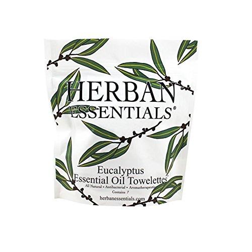 Price comparison product image Herban Essentials Mini Eucalyptus Towelettes