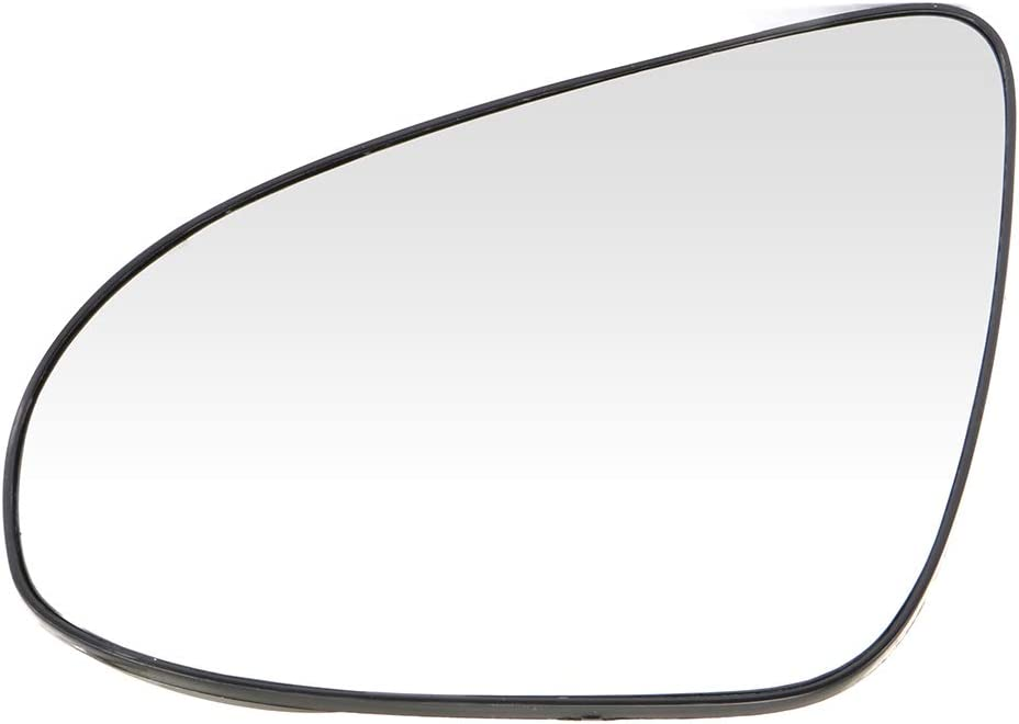 OCPTY Exterior Mirror Glass Left Side Chrome Heated Fits for 2012-2017 Toyota Camry 2014-2017 Toyota Corolla 2012-2017 Toyota Yaris Rear View Mirror Glasses