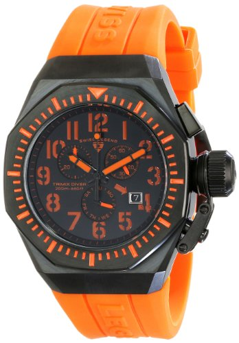 Swiss Legend Men's 10540-BB-01-OA Commander Analog Display Swiss Quartz Black Watch