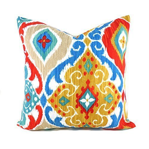 Outdoor Decorative Throw Pillow Cover Any Size OD Fresca Fiesta