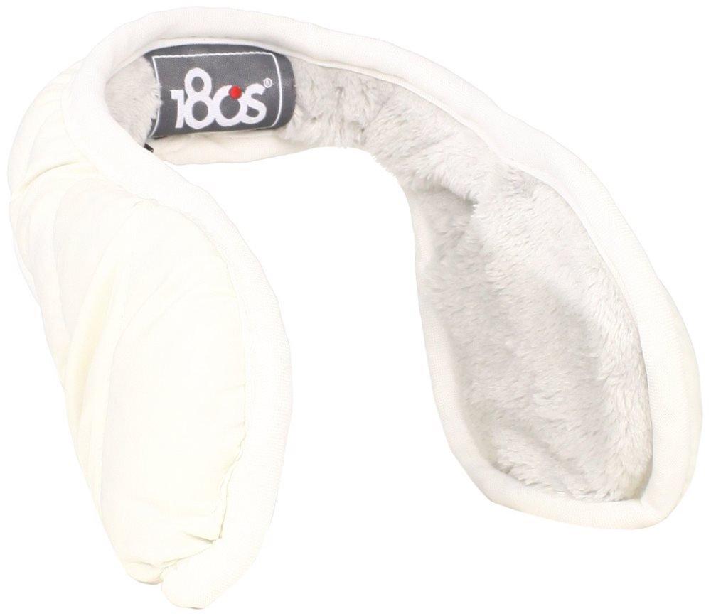180s Women's Down Ear Warmers, Snow, One Size