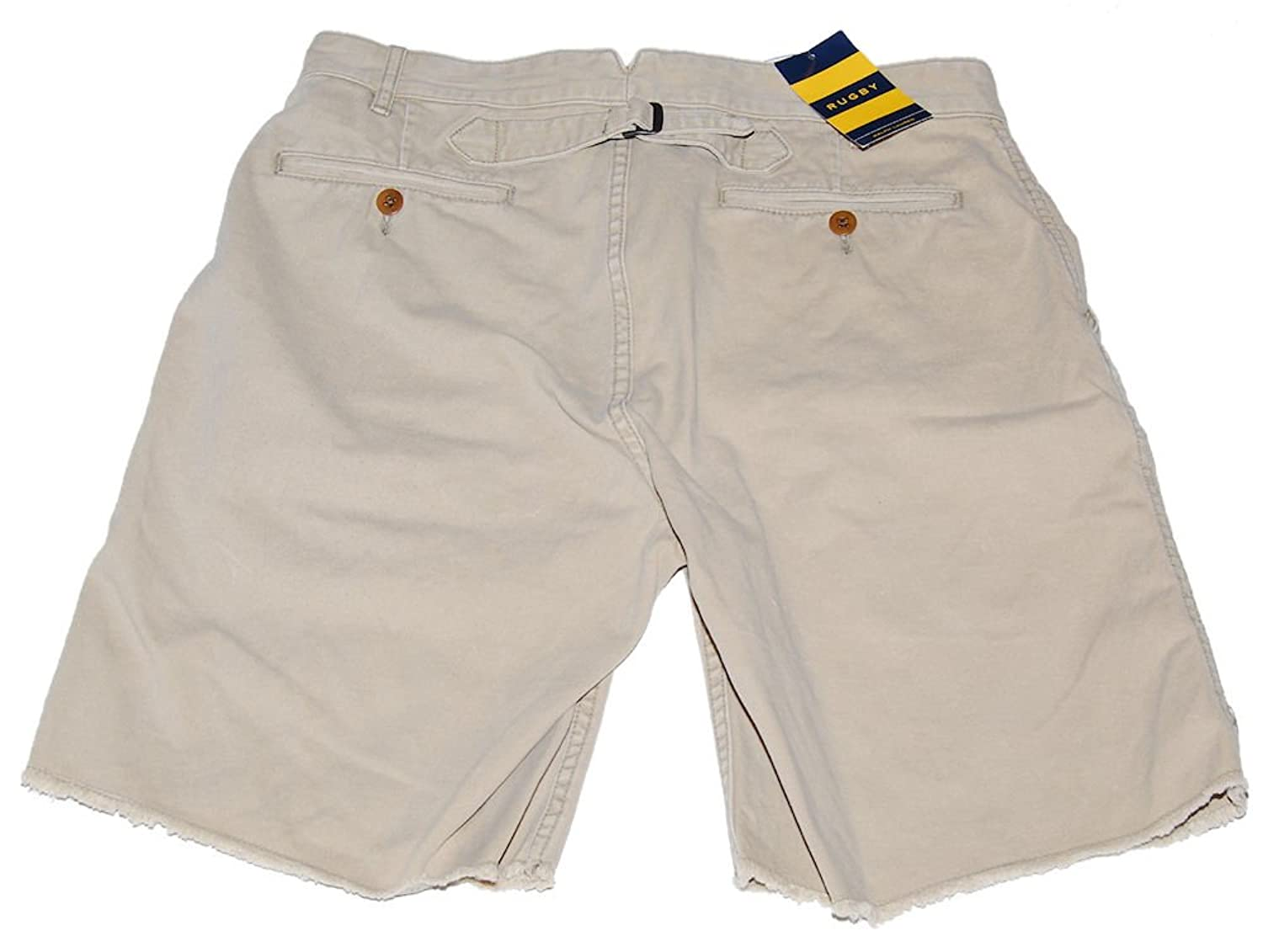 Polo Ralph Lauren Rugby Mens Shorts Khaki Tan Brown Flat Front ...