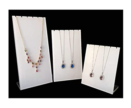 Amazon Com High Grade Acrylic Necklace Display Stands Modern Simple