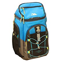 Arctic Zone Ultra 24 Can 10 Storage Ares Backpack Cooler, Blue/Black