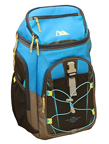Price comparison product image Arctic Zone Ultra 24 Can 10 Storage Ares Backpack Cooler, Blue/Black