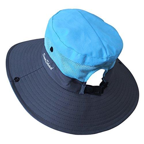 0bcedcfd9fd33 Muryobao Women's Sun Hat Outdoor UV Protection Foldable Mesh - Import It All