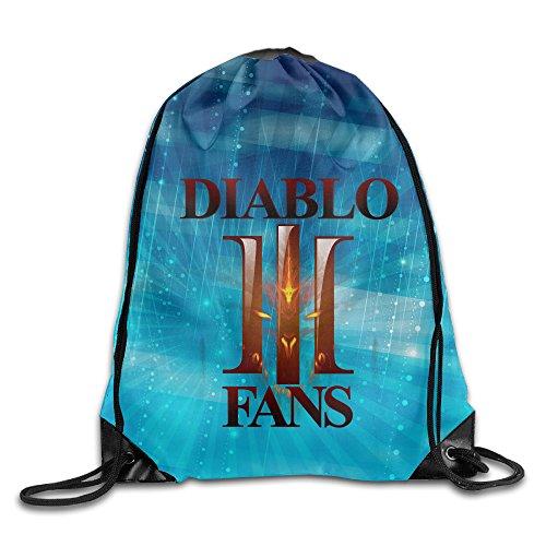 [Diablo Fans Logo Sackpack] (Diablo Reaper Of Souls Costume)