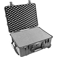 Pelican 1560 Case with Foam for Camera (Black)