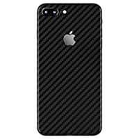 Gadgets WRAP Apple iPhone 7 Plus Black Carbon Skin for Back Only -CO- A1B09