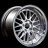 JNC Wheels - 18'' JNC005 Silver Machine Lip Rim - 5x112 - 18x8 inch
