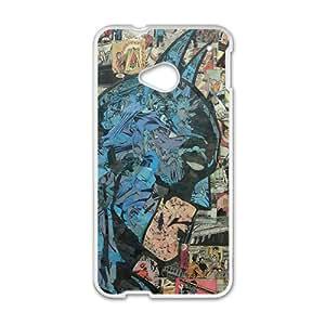 Batman Super Hero White HTC M8 case