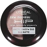 L'Oreal Paris HiP high intensity pigments Matte Eye Shadow Duos, Dashing, 0.08 Ounces