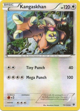 Pokemon - Kangaskhan (75/124) - XY Fates Collide