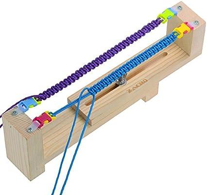 Bracelet Maker Loom Wristband Wrist Parachute Cord Braid Jig Tools H