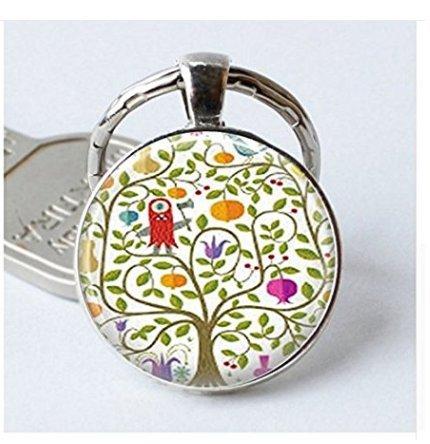 Colgante de árbol con llavero, árbol de la vida, para llaves ...
