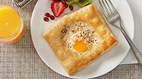 General Mills Pillsbury Best Square Puff Pastry Dough, 2 Ounce -- 120 per case. by Pillsbury (Image #1)