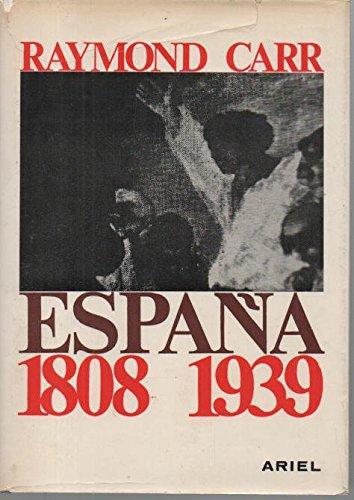 ESPAÑA 1808-1939: Amazon.es: CARR, RAYMOND.: Libros