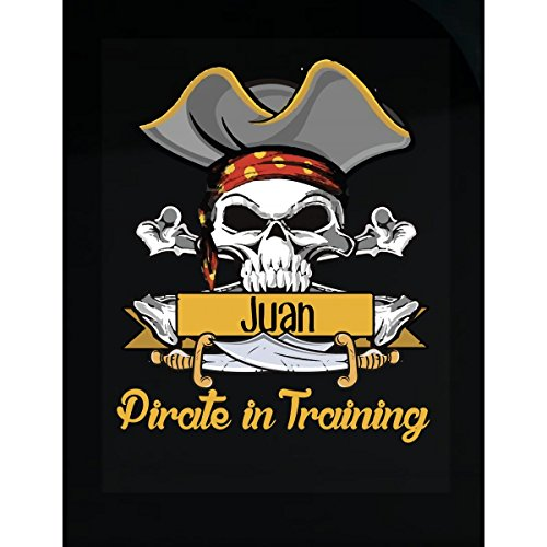 Prints Express Halloween Costume Juan Pirate in Training Kids Boy Girl Gift - Sticker -