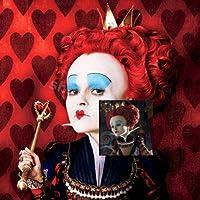 BeeShop(TM) Alice in Wonderland Red Queen of Hearts W/Crown Costume Wig