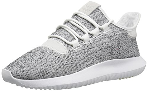 adidas Originals Men's Tubular Shadow Sneaker, White/Grey One/White, 9 M US