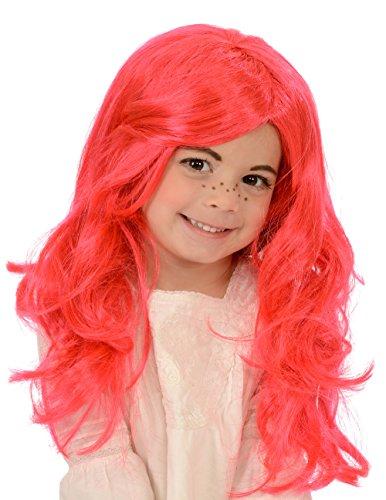 [Child's Strawberry Girl Costume Wig] (Strawberry Halloween Costumes)