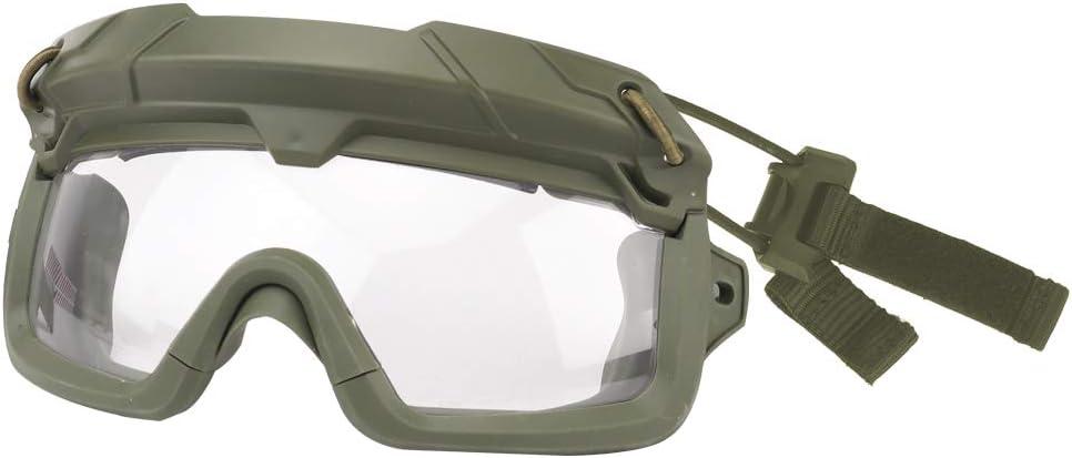 ATAIRSOFT Táctico Anti Niebla Protección de Seguridad 2 Modos Gafa Gafas para Airsoft Militar Excursionismo Paintball Caza