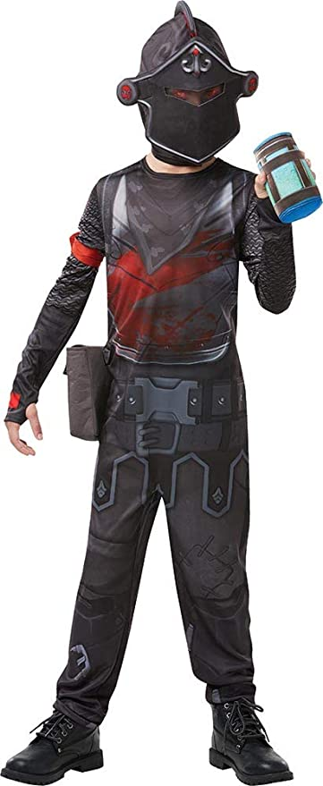 Fortnite - Disfraz Black Knight para niño, 13-14 años (Rubies 300199-TE)
