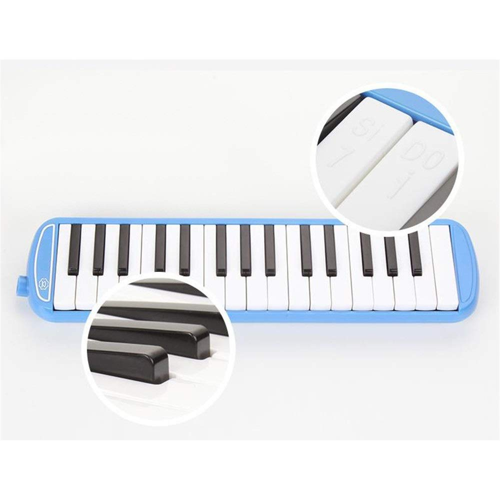 Melodica Musical Instrument Kids Musical Instrument Gift Toy Pianica Melodica 37 Piano Keys For Music Lovers Beginners Portable With Mouthpieces Tube Sets Carrying Bag Pink Blue For Music Lovers Begin by Kindlov-mus (Image #3)
