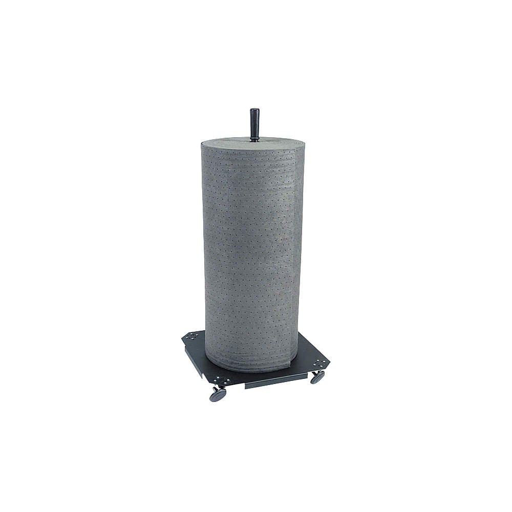 New Pig GEN249 Vertical Mat Roll Holder, Black, Steel, Powder-Coated Steel