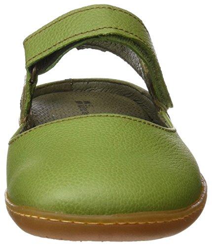 El Naturalista N5270 Soft Grain El Viajero, Sandalias con Punta Cerrada para Mujer Verde (Green / Kaki)