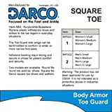 Darco Body Armor Toe Guard Womens Square