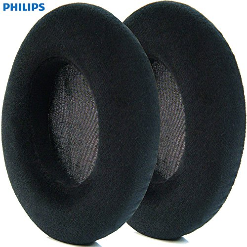 Price comparison product image Philips Genuine Velvet Ear Cushions ONLY (pair) for the Fidelio X2 and X2HR Model Headphones made from 2015 Onwards