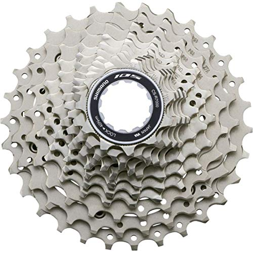 (Shimano 105 11 Speed CSR7000 Cassette Gray 11/32T)