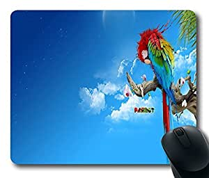 "Personalized Colourful Parrot Custom Standard Rectangle Mouse Pad Oblong Gaming Mousepad in 220mm*180mm*3mm (9""""*7"""") -1011024 by icecream design"