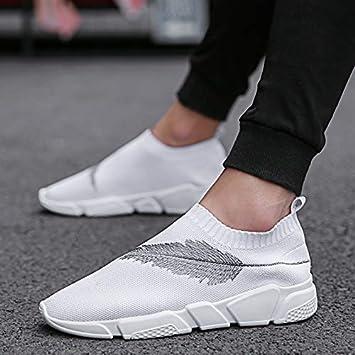design di qualità vendite all'ingrosso completo nelle specifiche HCBYJ Calze scarpe Calze Autunnali Scarpe da Uomo Traspiranti Paio ...