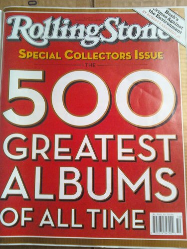 Rolling Stone ISSUE #937. 500 GREATEST ALBUMS OF ALL TIME (SPECIAL COLLECTOR'S EDITION, THE 500 GREATEST ALBUMS OF ALL TIME) (Greatest Albums Rolling Stone 500)