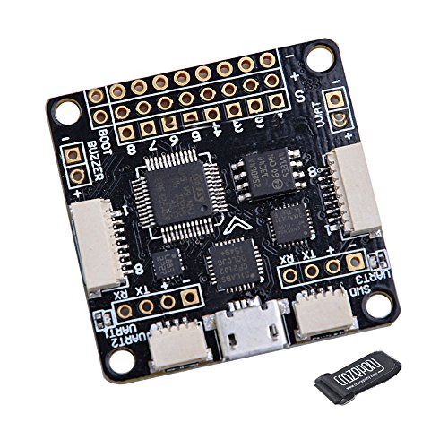 Crazepony F3 Deluxe Flight Controller 10DOF Cleanflight with Brano and Compass for FPV Multicopter Quadcopter Supported Oneshot ESC with Case