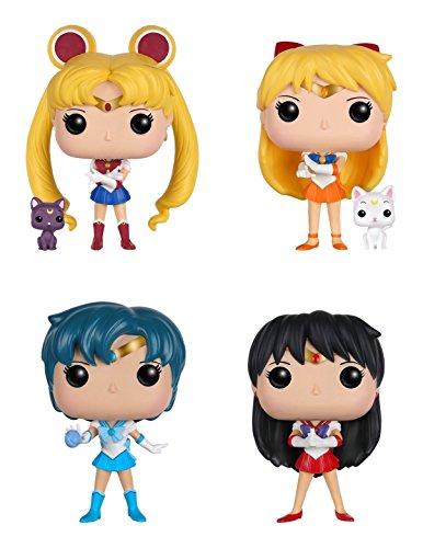 Funko Sailor Moon: POP! Anime Action Figure Collectors Set