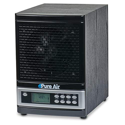 O3 Pure Whole Home Ozone and Ionizer Air Purifier with UV HEPA PCO and Carbon Filtration